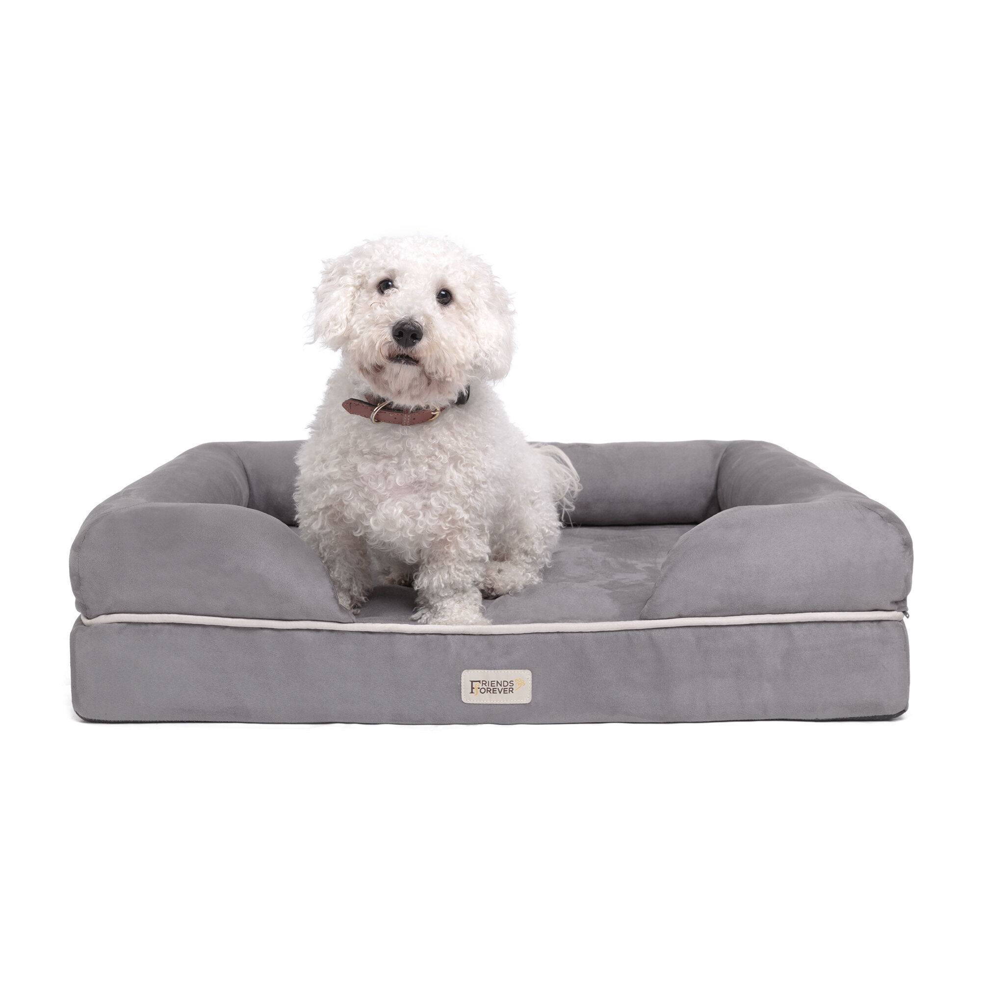 Tucker Murphy Pet Inverness Couch Bolster With Solid Memory Foam Reviews Wayfair