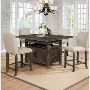 Shackleford 5 Piece Counter Height Dining Set