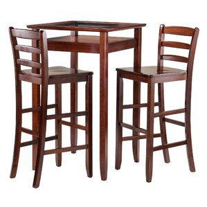 Halo 3 Piece Pub Table Set by Charlton Home
