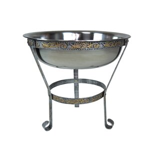 20 Stainless Steel Ice Bucket With Stand