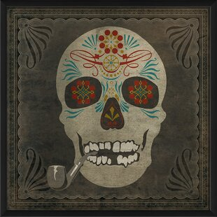 sugar skull wall art wayfair