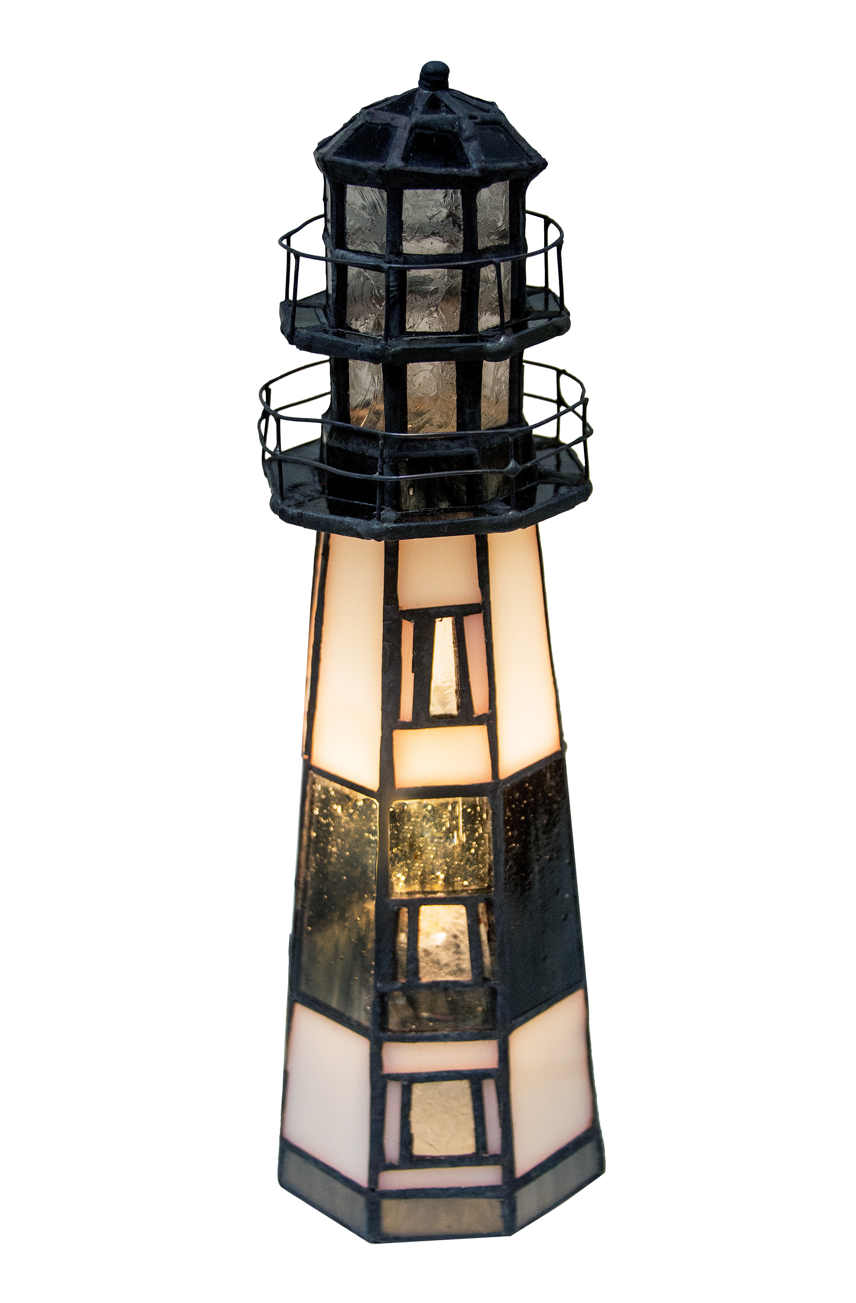 Meyda Tiffany Montauk Point Lighthouse 9 5 Table Lamp Reviews