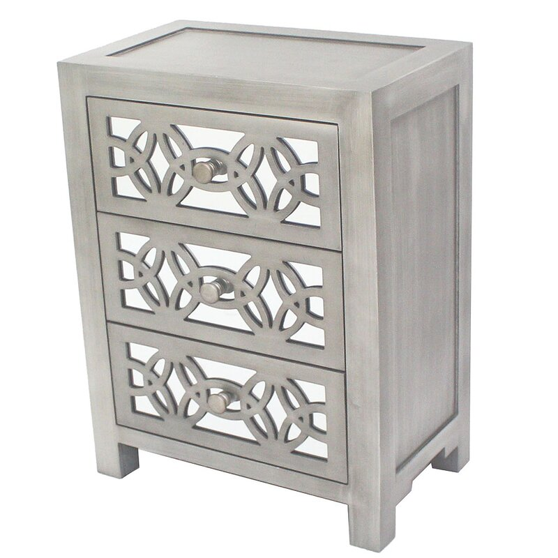 Accent Cabinets Chests Joss Main - Colorful glass drawers that can form an art object