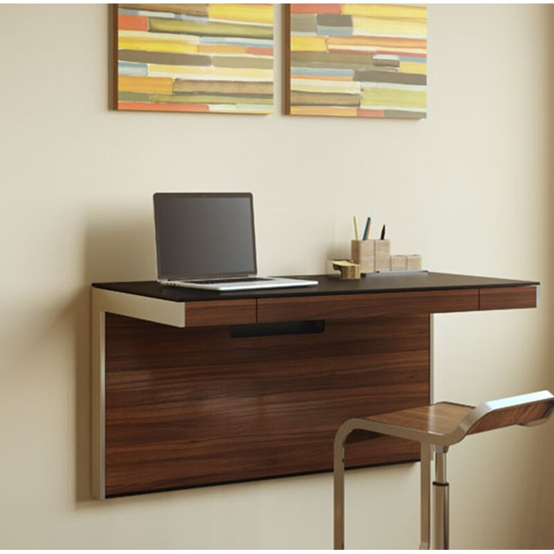 Bdi Usa Sequel Wall Mounted Floating Desk Amp Reviews Wayfair