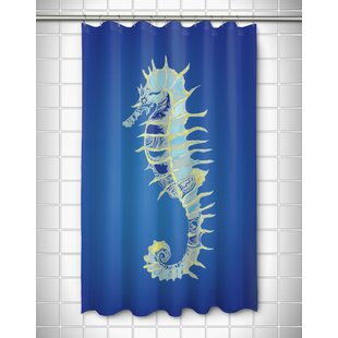 Majestic Seahorse Shower Curtain