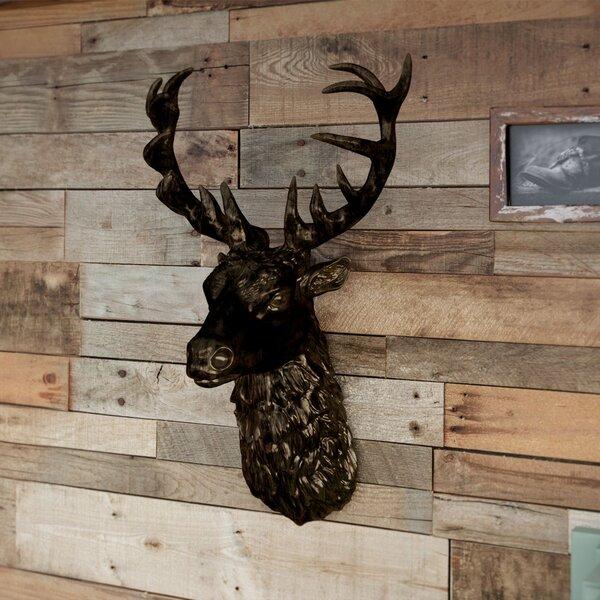 Union Rustic Gypsum Stags Head Wall Decor & Reviews