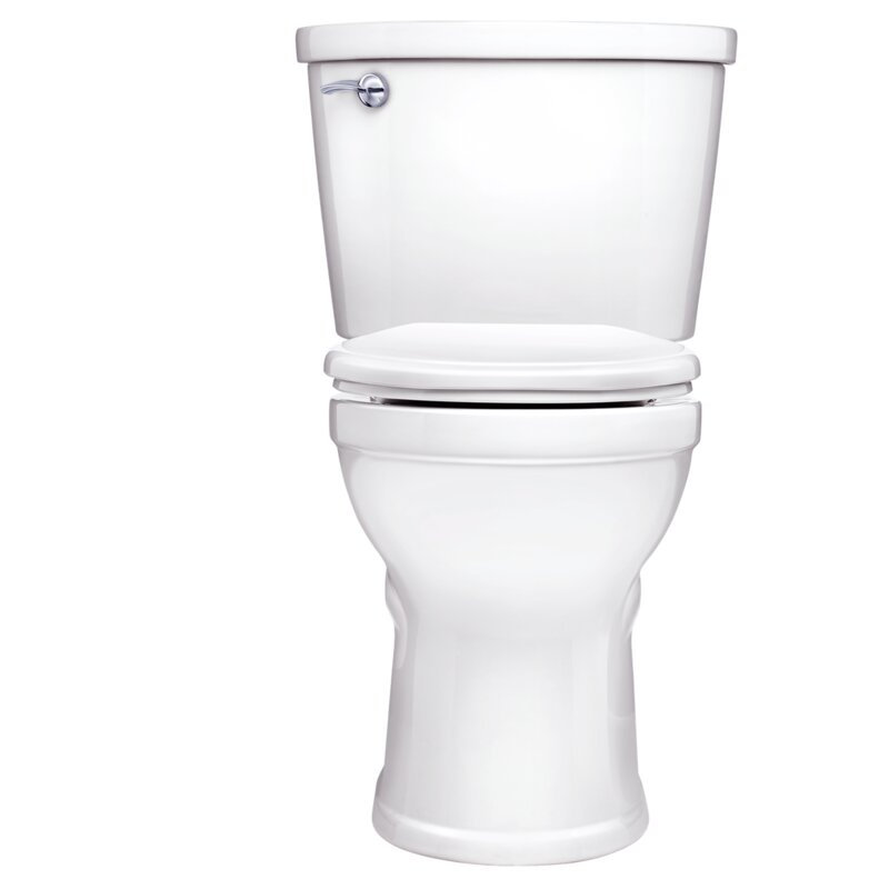 Champion Pro Right Height Rough-In 1 28 GPF Round Two-Piece Toilet (Seat  Included)