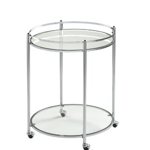 Veranda Round Bar Cart