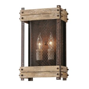 Gloska 2-Light Outdoor Flush Mount