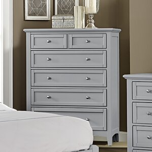 Gray Dressers & Chest of Drawers You\'ll Love | Wayfair