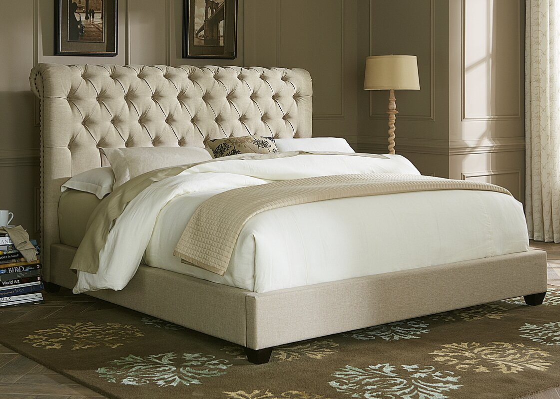 Wayfair Upholstered Bed Home Wayfair Upholstered Bed King: Darby Home Co Dellinger Upholstered Sleigh Headboard