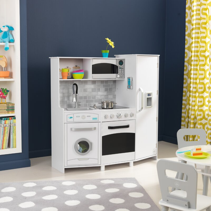 a4f5cf4e25eb5 KidKraft Large Play Kitchen Set   Reviews