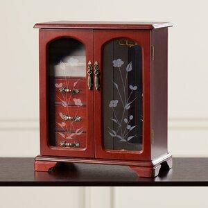 Weekes Two Sided Mini Jewelry Box