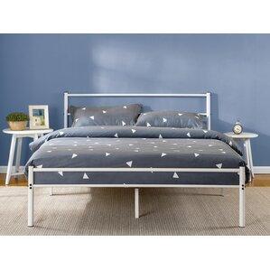 Roybal Metal Platform Bed by Varick Gallery