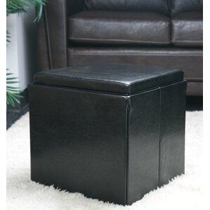 Folding Storage Cube Ottoman by Simplify