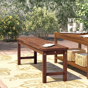outdoor benches youll love wayfair - Patio Benches