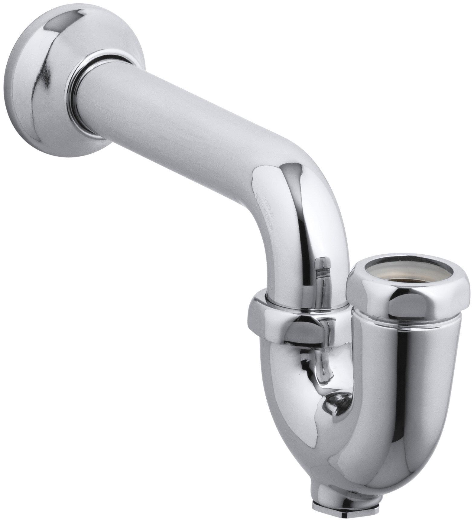 K-9000-CP Kohler Adjustable P-Trap with Tubing Outlet | Wayfair