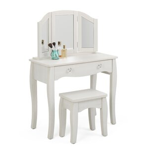 Malachi Bedroom Vanity Set With Mirror
