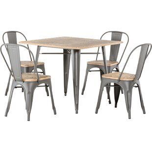 Sheree 5 Piece Dining Table Set