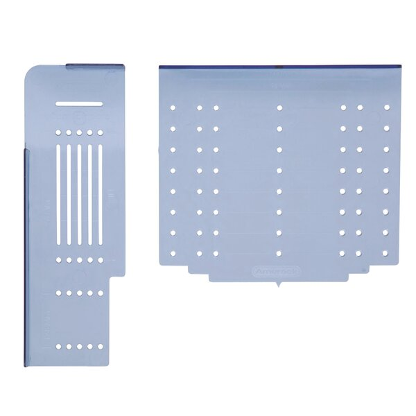 Quick And Easy Installation With Purchase Of The Amerock Cabinet Hardware  Door And Drawer Installation Template