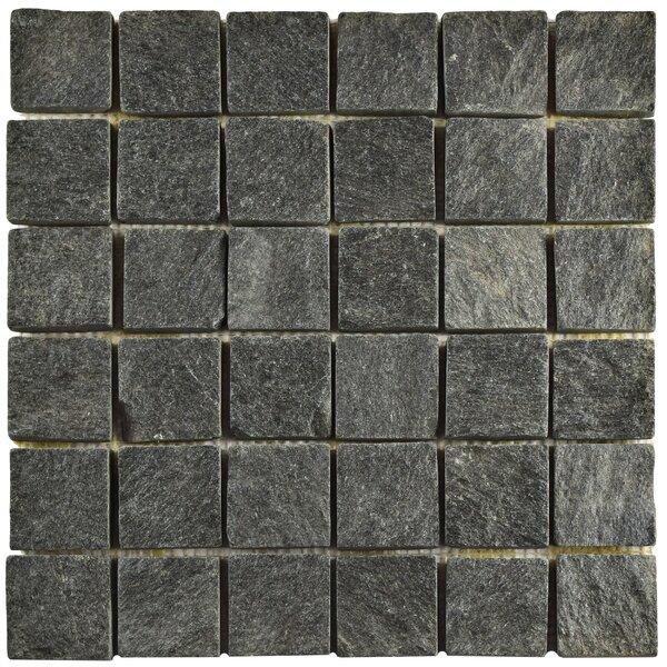 Elitetile Peak Quad Quartzite 1 88 Quot X 1 88 Quot Slate Mosaic