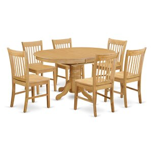Avon 7 Piece Dining Set by East West F..