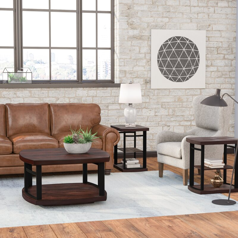 living room table set. Mckenzie 3 Piece Coffee Table Set Trent Austin Design  Reviews