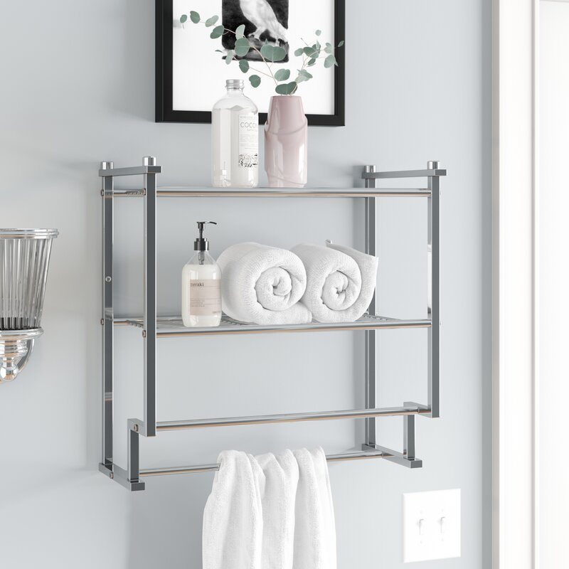 The Twillery Co Hedvige Wall Shelf Amp Reviews Wayfair