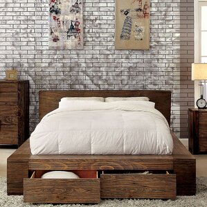 Joan Storage Platform Bed by A&J Homes Studio