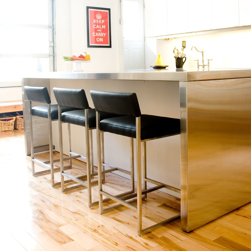 Graph 24 Quot Bar Stool Amp Reviews Allmodern