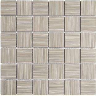 Fabrique 12 X Ceramic Wood Look Tile In Gris Linen