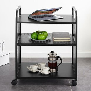 Aubrie Multifunctional Bar Cart