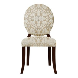 Lashley White Flowers Side Chair (Set of 2) by Red Barrel Studio