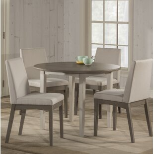Kinsey Modern 5 Piece Drop Leaf Dining Set