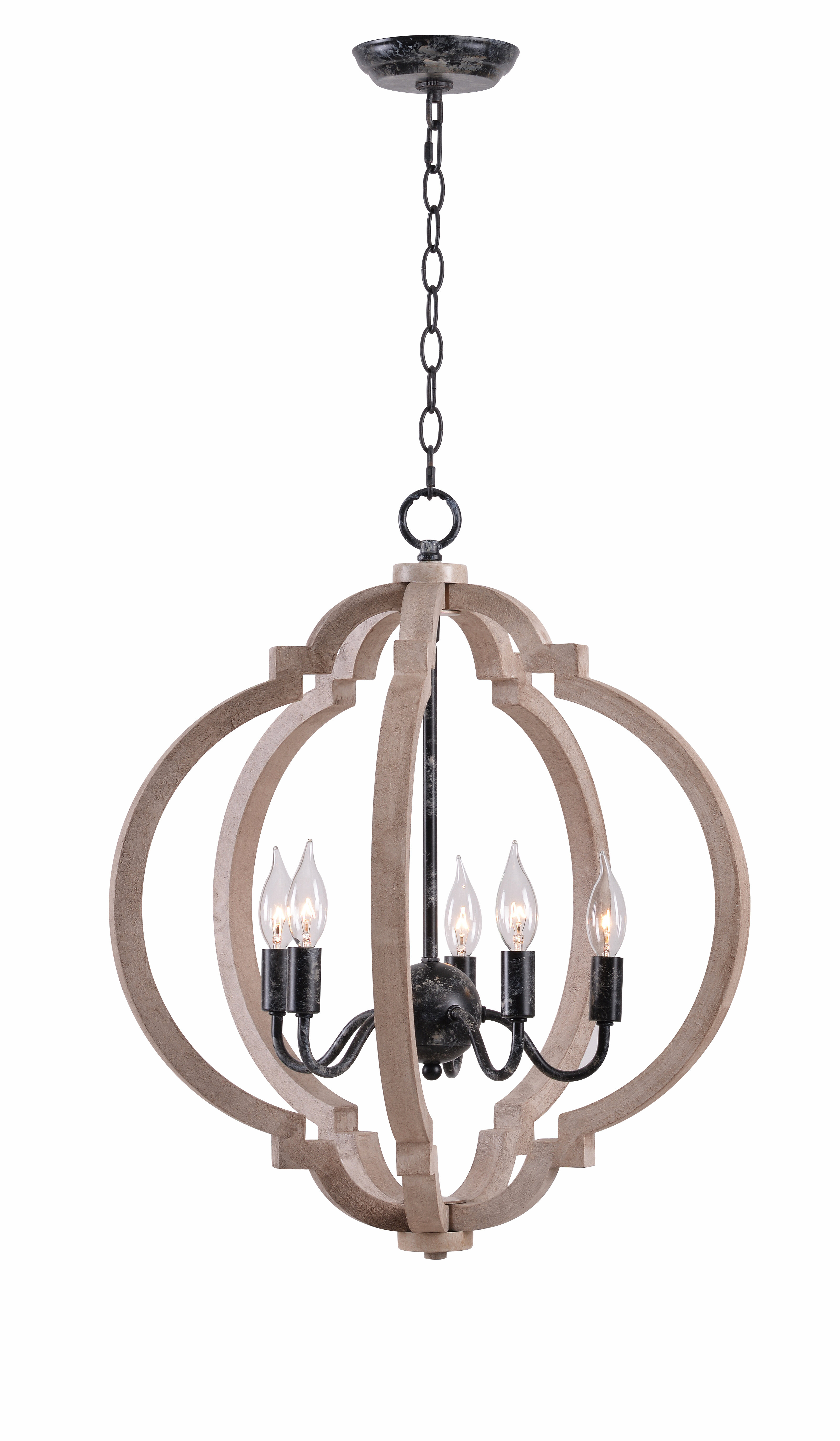 Gracie oaks briony 5 light lantern chandelier reviews wayfair