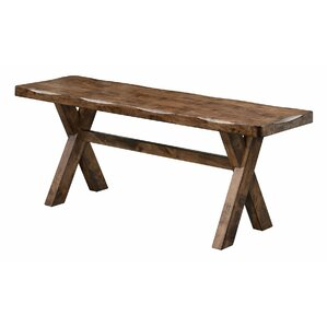 Ventura Wooden Bench by Loon Peak