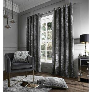 Grey & Silver Curtains | Wayfair.co.uk