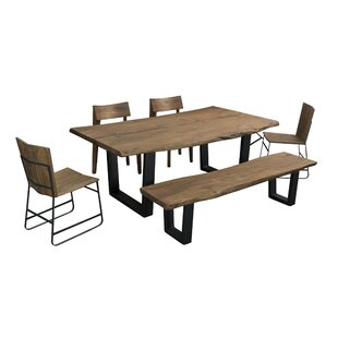 Speedwell 6 Piece Solid Wood Dining Set
