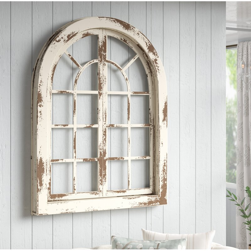 Arched Window Treatments Farmhouse