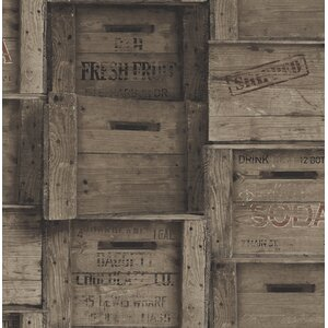 Crates Distressed Wood 33' x 20.5