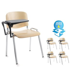 Versatile Wood Conference Stacking Chair ...  sc 1 th 225 & Versatile Wood Conference Stacking Chair (Set Of 4) By Home u0026 Haus ...