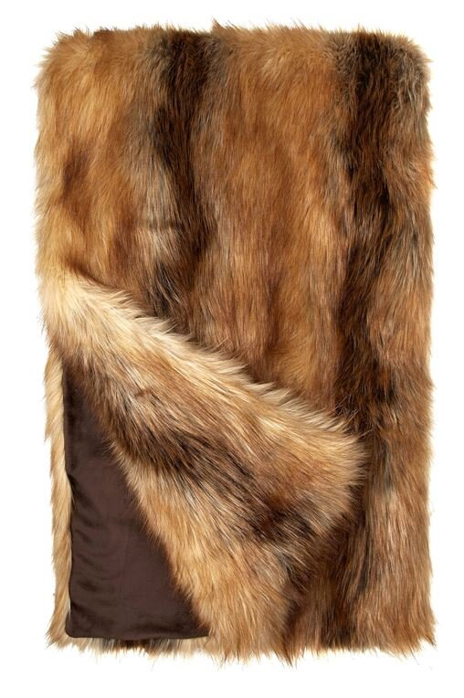 131f3b203a79 FABULOUS-FURS Limited Edition Fox Faux Fur Throw