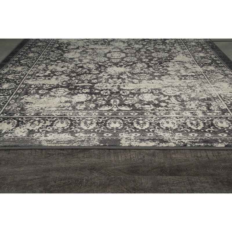 Abba Onyx Wash Area Rug
