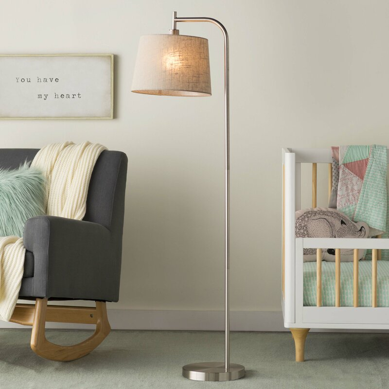 Adesso blake 58 arched floor lamp reviews wayfair blake 58 arched floor lamp mozeypictures Gallery