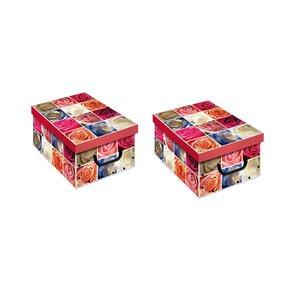 2-tlg. Aufbewahrungsboxen-Set von Artra