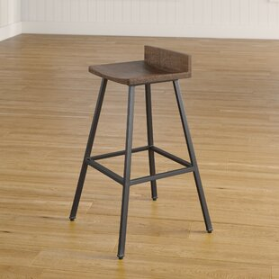 Furniture Good Vintage Industrial Green Wood Cast Iron Bar Stool Pedestal Seat Pure And Mild Flavor