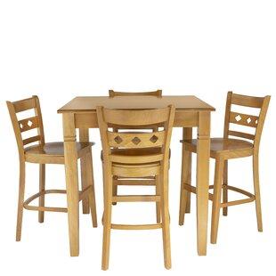 Weinstock 5 Piece Pub Table Set