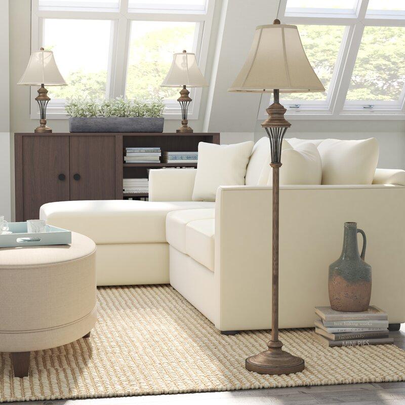 laurel foundry modern farmhouse groseiller 3 piece table and floor