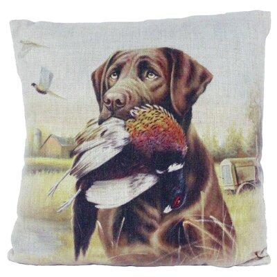 Burlap Throw Pillow Always Unique