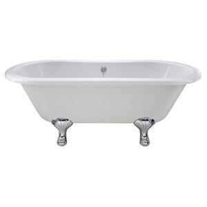 Kingsbury 150cm x 74.5cm Freestanding Soaking Bathtub